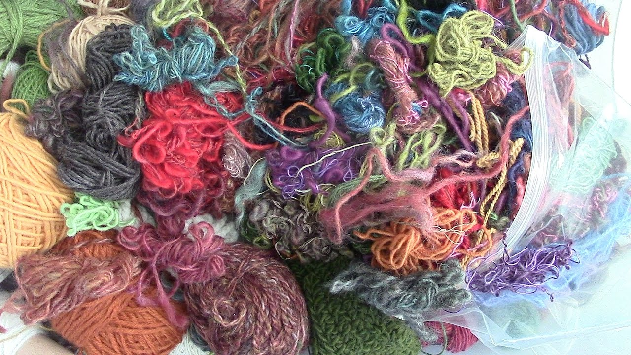 Dryer Balls: Recycling & Using up my leftover Wool Yarn!