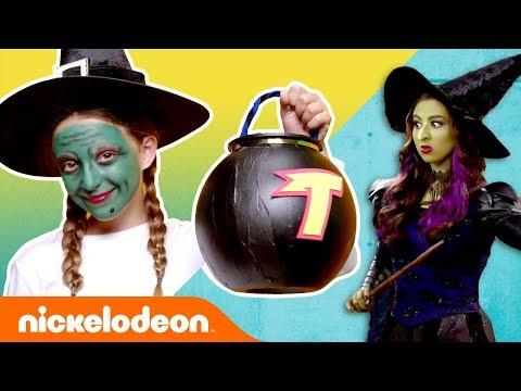 DIY Halloween Make-Up & Costumes 👻 Ft. SpongeBob, Henry Danger, & More! | #TryThis