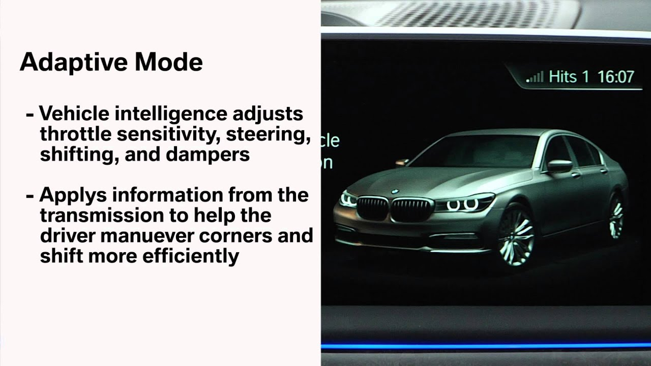 Adaptive Driving Mode | BMW Genius How-To