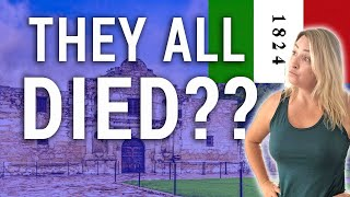 THE ALAMO EXPLAINED IN 90 SECONDS (SAN ANTONIO TEXAS) | Travel Snacks