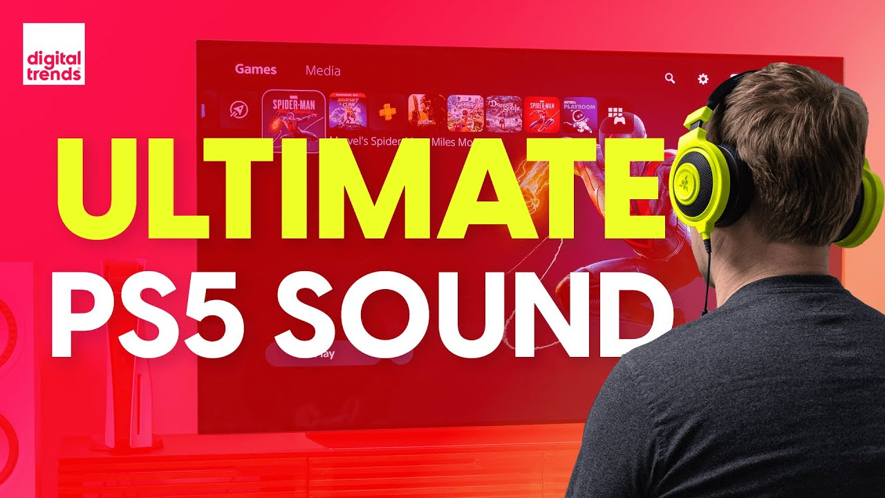 Download The Best PS5 Audio settings   PlayStation's never sounded this good!