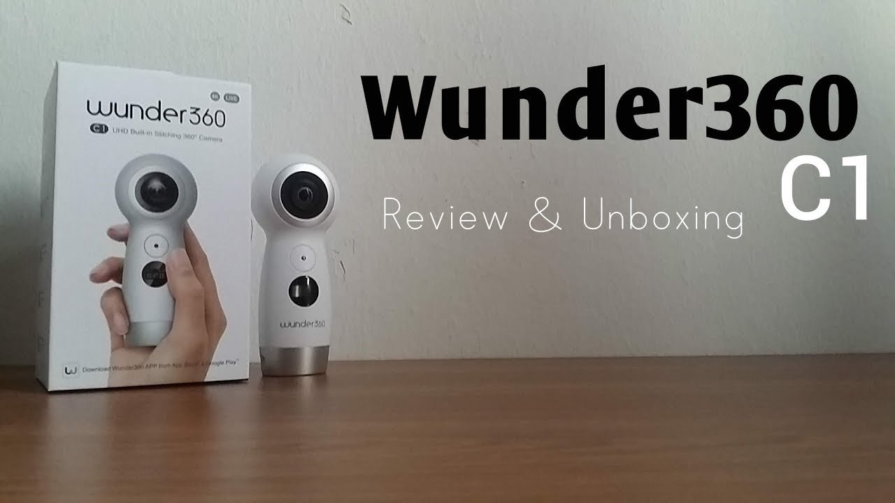 Wunder360 C1 | 360° Camera | Review & Unboxing [HD]