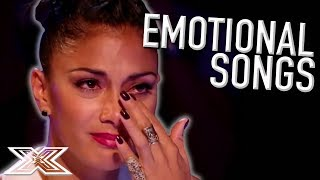 Video EMOTIONAL SONGS | Auditions That Made Judges Cry! | X Factor Global download MP3, 3GP, MP4, WEBM, AVI, FLV Juli 2018