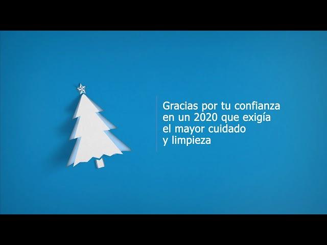 Santander Lavandería Industrial te Desea Feliz Navidad