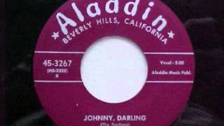 FEATHERS - JOHNNY DARLING - ALADDIN 3267 (1954)