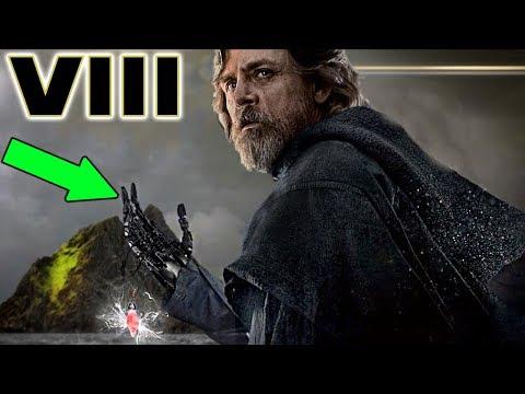 Why is Luke Skywalker's Hand Damaged? - Star Wars The Last Jedi THEORY