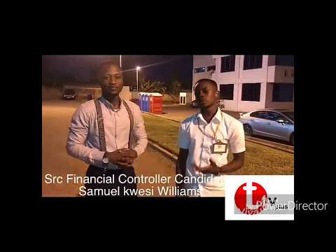 SHORT INTERVIEW WITH UPSA SRC FINANCIAL CONTROLLER  CANDIDATE'18 KWASI WILLS  BY TAKYI TV