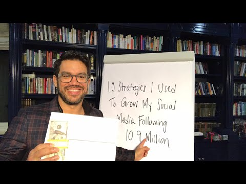 10 Strategies I Used To Grow My Social Media Following To 10.9 Million💰Tailopez.com/growfollowing