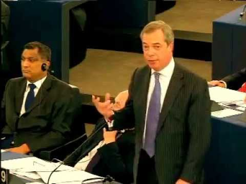 Nigel Farage ; Furious over Palestinian State Recognition European Parliament Vote