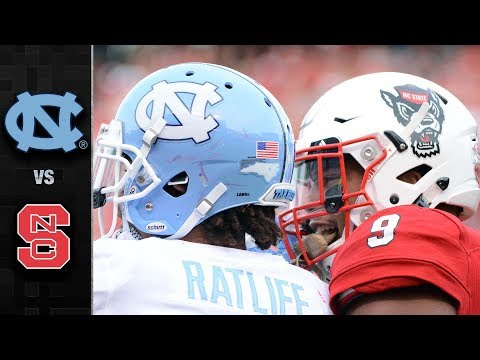 North Carolina vs. NC State Football Highlights (2017)
