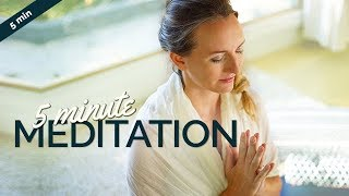 Easy 5 Minute Meditation to Calm Down & Relax