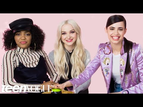 Dove Cameron and Descendants 2 Stars Take the Ultimate Disney Trivia Challenge  Teen Vogue