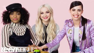 Dove Cameron and Descendants 2 Stars Take the Ultimate Disney Trivia Challenge | Teen Vogue