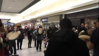 Idle No More Flash Mob Round Dance Northgate Mall Regina, Saskatchewan Jan. 24, 2013