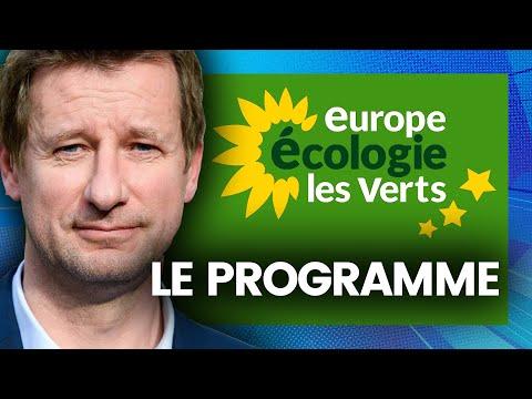 EUROPÉENNES : le programme d'Europe Écologie Les Verts résumé (Yannick Jadot)