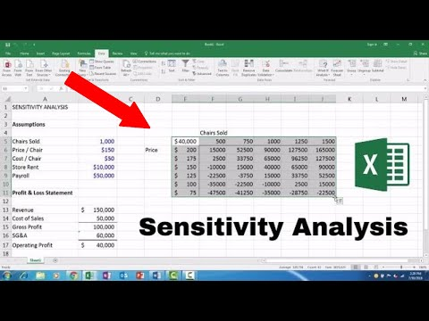 sensitivity-analysis---microsoft-excel-2016