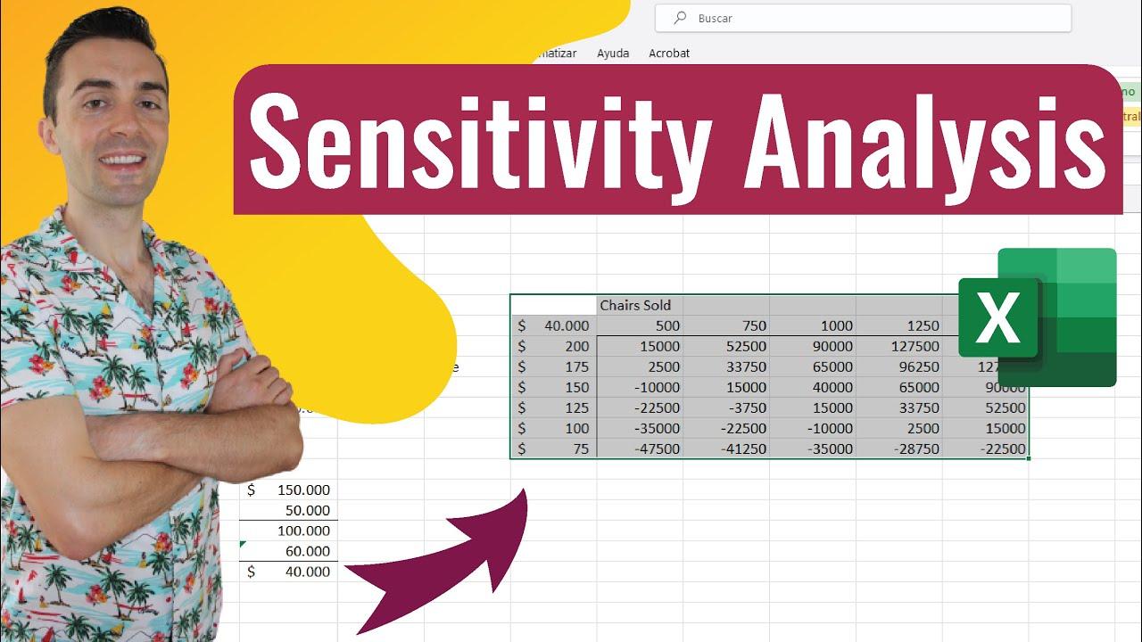 sensitivity analysis excel  Sensitivity Analysis - Microsoft Excel 2016 - YouTube