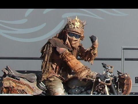 Mad Max Fury Road Sydney Opera House Stunt Show