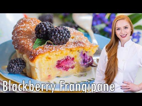 Blackberry Lemon Frangipane Tart