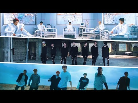 [MASHUP] EXO & MONSTA X & BTS :: Lucky One / Stuck / Save Me