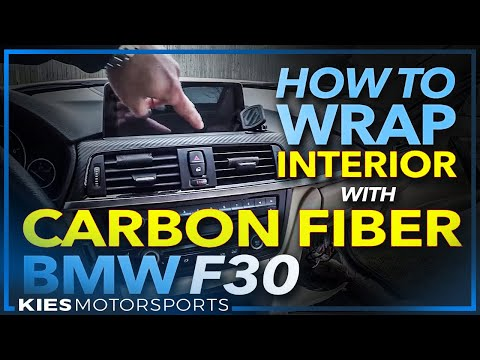 BMW F30 How to Remove, Wrap and Re-Install Interior Trim wit