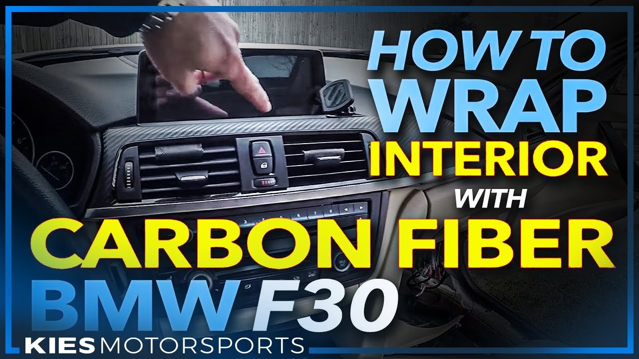 Bmw F30 How To Remove Wrap And Re Install Interior Trim With Carbon