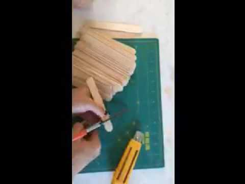 How To Make Dollhouse Shingles