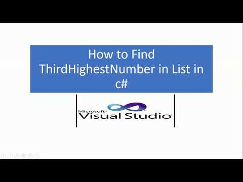 How to find second and third highest values in List using Linq query in  C#