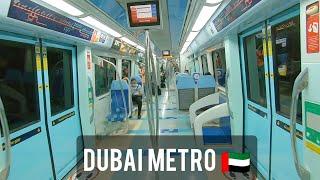 Dubai Metro Rapid Transit Rail RTA Emirates 2020