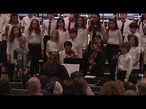 Swampscott Middle School - Band and Chorus Concert  1/24/19