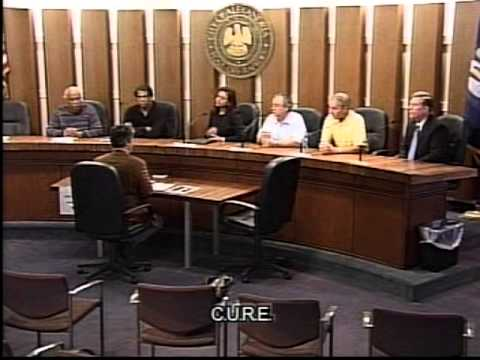 city of alexandria, la. cure first & second official meeting