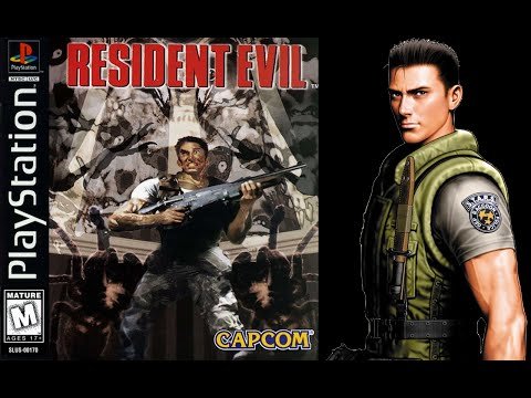 Resident Evil (PlayStation) - (Longplay - Chris Redfield)