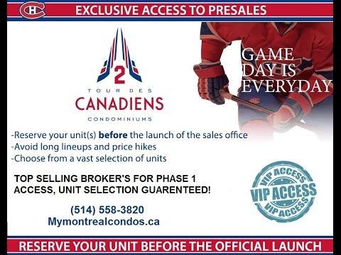 Tour Des Canadiens Condos I Bell Centre Condo