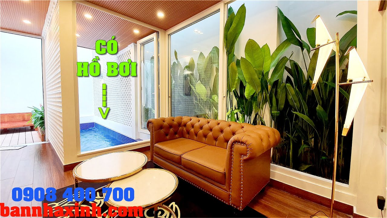 Nhà mà như ở Resort – CÓ CẢ HỒ BƠI, 4.2×16 – Chủ là Kiến Trúc Sư – Giá không tưởng 6tỷ7 còn T.Lượng
