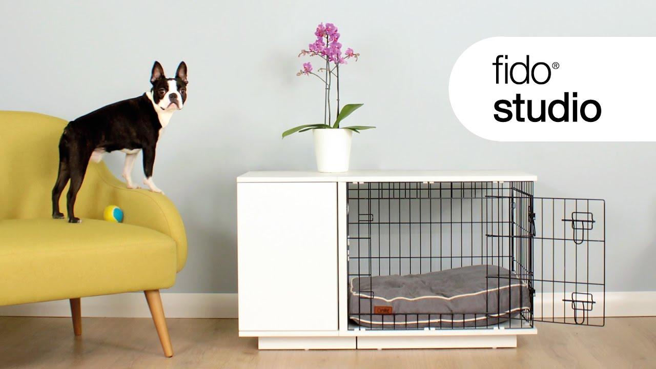 Fido Studio Hundebox  Omlet Haustierprodukte