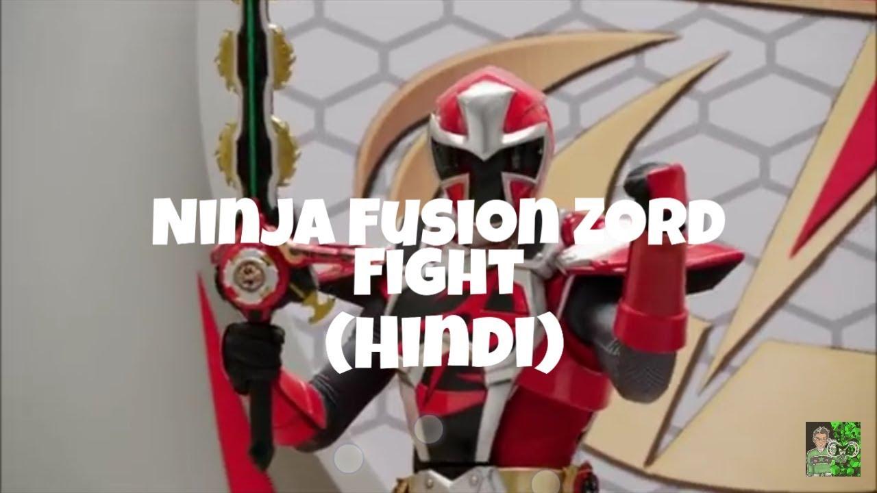 Power Rangers Ninja Steel in Hindi: Episode 12 - Megazord Fight ( Ninja  Fusion Zord)
