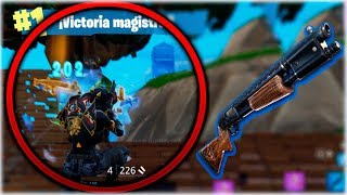 VICTORIA ÉPICA SOLO A ESCOPETA DE CORREDERA en Fortnite: Battle Royale [WithZack]
