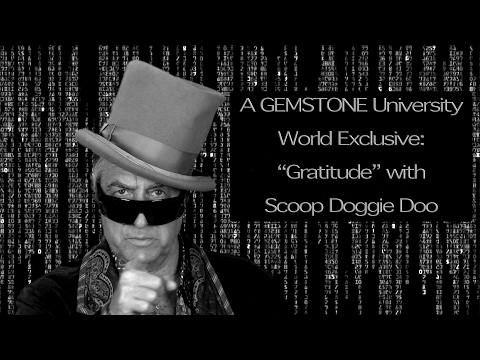 GRATITUDE! A World Exclusive with Scoop Doggie Doo