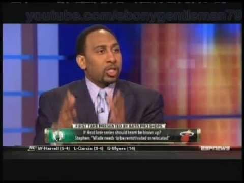 Stephen A Smith: If Miami fails, trade Kobe & Gasol for Wade & Bosh 6-6-2012