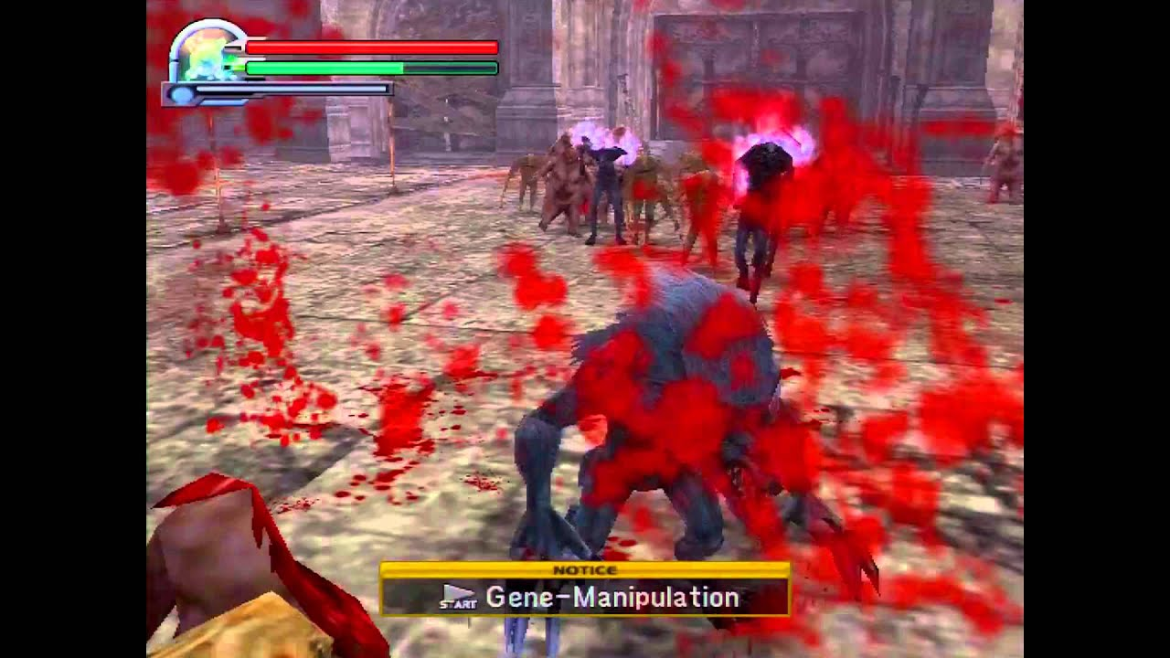 Altered Beast- PS2- HD