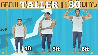 SECRET OF GROWING TALLER IN 30 DAYS || ಇಗ್ನಿಸ್ ಫಿಟ್ನೆಸ್ || national bodybuilding champion