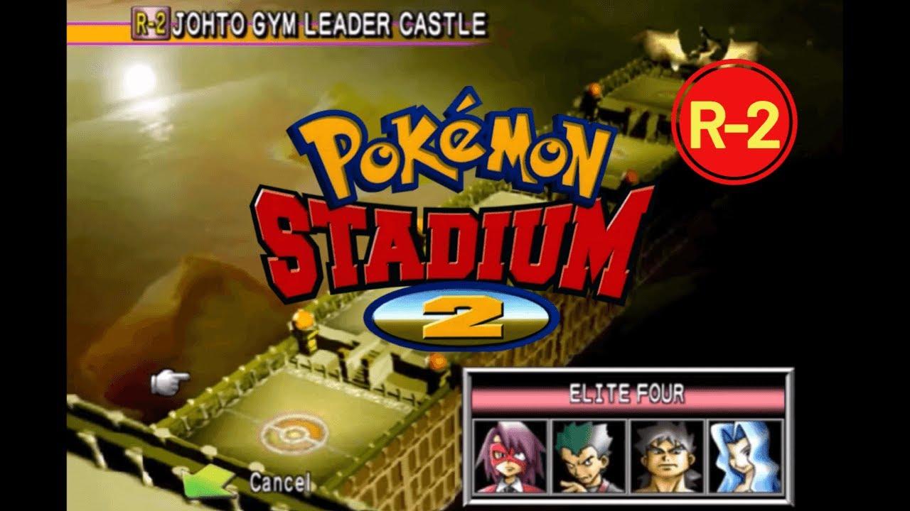 Pokémon Stadium 2 Johto Gym Leader Castle Elite Four Champion Lance R You