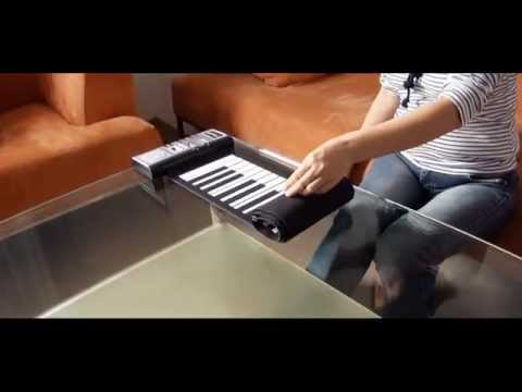 Flexible Roll Up Synthesizer Keyboard Piano by Online Leo Store