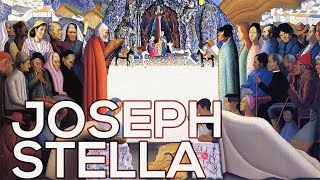 Joseph Stella: A collection of 170 works (HD)