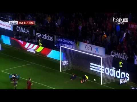 Osasuna Vs Real Madrid 0-2 Goal Di Maria 15-1-14
