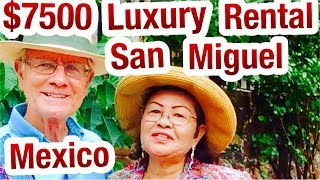 San Miguel de Allende $7,500 Deluxe Vacation Rentals, #SanMiguelMexico Air B&B, Real Estate,