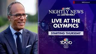 'NBC Nightly News' 2020 Summer Olympics promo