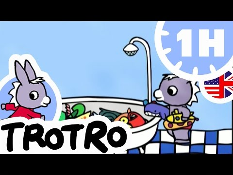 TROTRO - 1 hour - Compilation #02 - Trotro washes by himself
