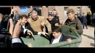 29 сентября,В Кировограде радикалы бросили в мусорный бак руководителя аппарата обладминистрации