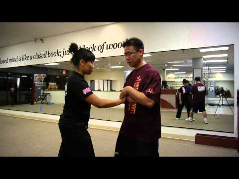 Tai Chi Class Learning A Push Hands Technique - Las Vegas Kung Fu Academy